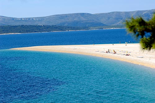 Brac top beach - Zlatni Rat (Golden Cape)