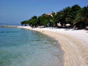 Bratus beach near Makarska