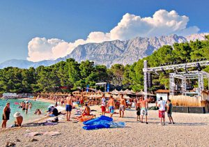 Buba beach in Makarska
