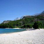 Cvitacka beach in Makarska