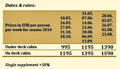 Deluxe Cruise Prices