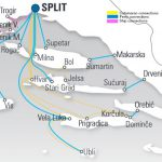 Ferries and catamaran connections to Split