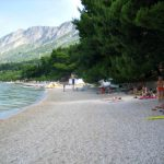 Gradac pebble beach