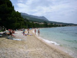 Hotel Alga beach in Tucepi