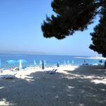 Hotel Dalmacija beach in Makarska