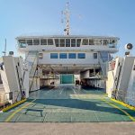 Hrvat ferry from Split to Supetar