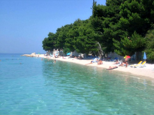 Ikovac beach in Baska Voda