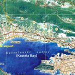 Kastela map - seven villages