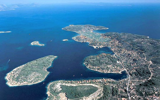 Korcula and Lumbarda islands