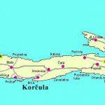 Korcula map