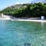 Krvavica beach in Makarska