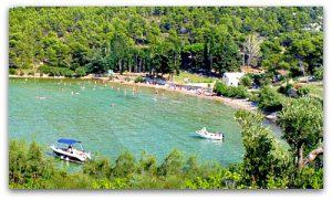 Lovrecina beach (Postira village)