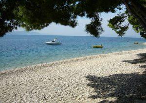 Mala Duba beach in Zivogosce