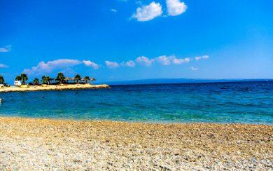 Marjan park beach
