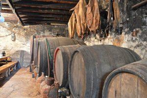 Miki Bratanic's cellar from Vrbanj (Hvar island)