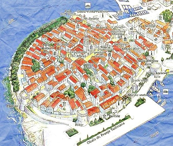 Korcula Town Split Croatia Travel Guide