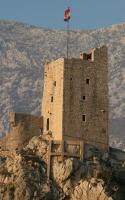Mirabella fortress in Omis (Croatia)