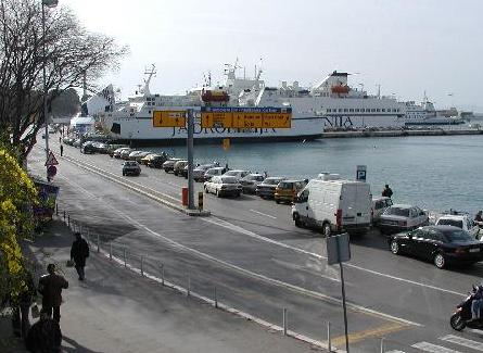 Parking in Split ferry port