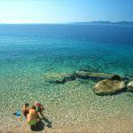 Pisak (Omis) village beach
