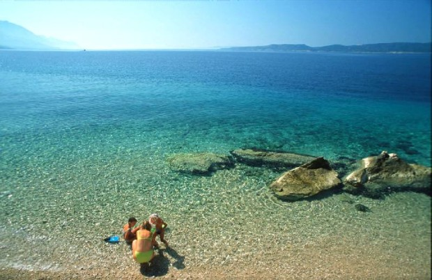 Pisak (Omis) village beach