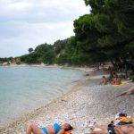 Plisivac beach in Podgora