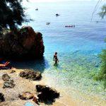 Small beaches in Podgora