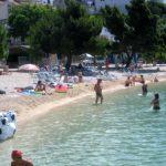 Podluka beach in Baska Voda