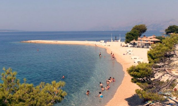Ramova beach in Makarska