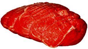 Rump beef meat for Pasticada