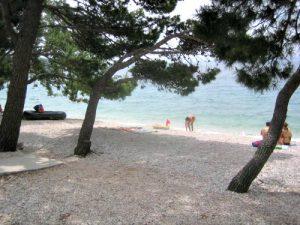 Slatina beach in Tucepi