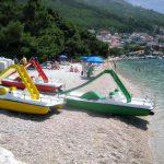 Soline beach in Brela