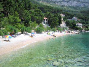 Stomorica beach in Brela