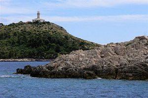 Struga lighthouse view