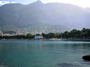 Sveti Petar (Saint Peter) beach in Makarska