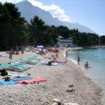 Uranija beach in Baska Voda