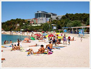 Znjan sandy beach