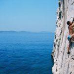 Cetina rock climbing