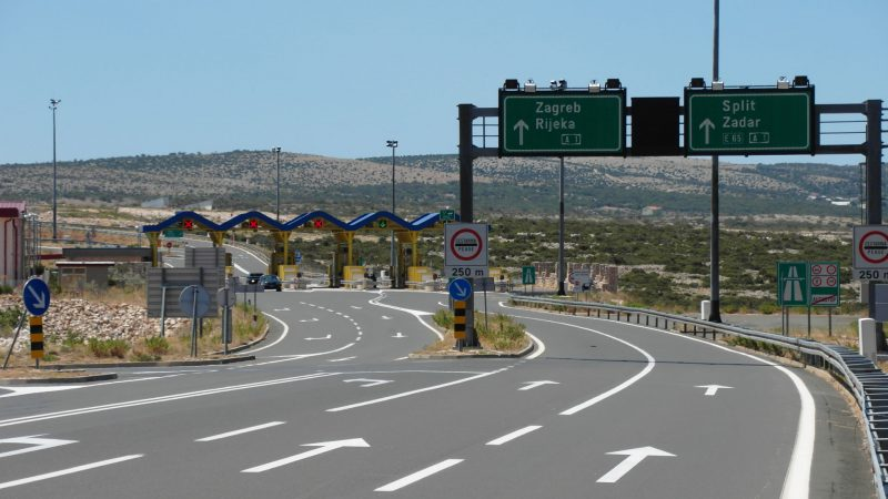 A1 Motorway near Maslenica