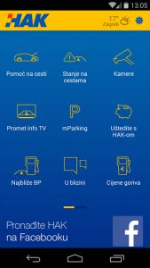 HAK Croatia Traffic Info app