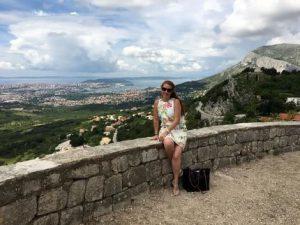Klis fortress view