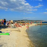 Medena beach near Trogir