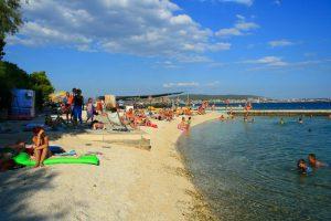 Medena beach near Trogir