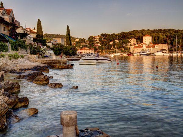 Maslinica village port, Solta island