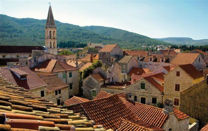 Stari Grad The Oldest Town On Hvar Island Split Croatia