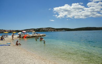 Trogir beaches