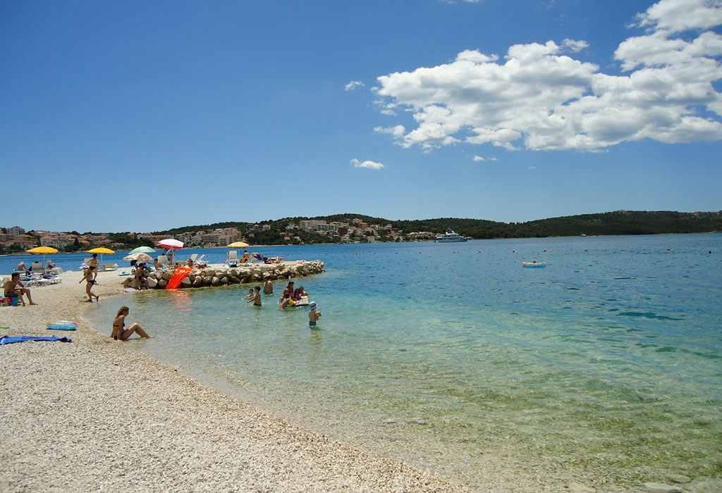 best trogir beaches top beaches in trogir riviera