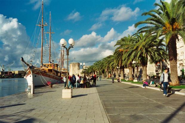 Trogir riva (promenade)