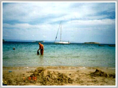 Zaglav beach on Vis