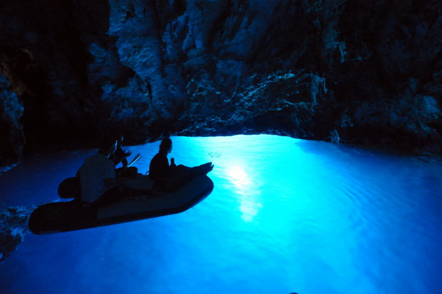 Blue Cave on Bisevo Island