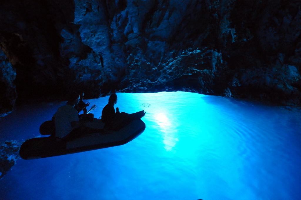 Blue Cave on Bisevo Island